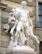 Herakles and Kerberos