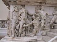 Nereus, Doris, Okeanos Pergamonaltar