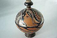 Pyxis, portraying Nike 4 century BCE