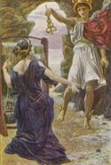 Calypso and Hermes01GREEK