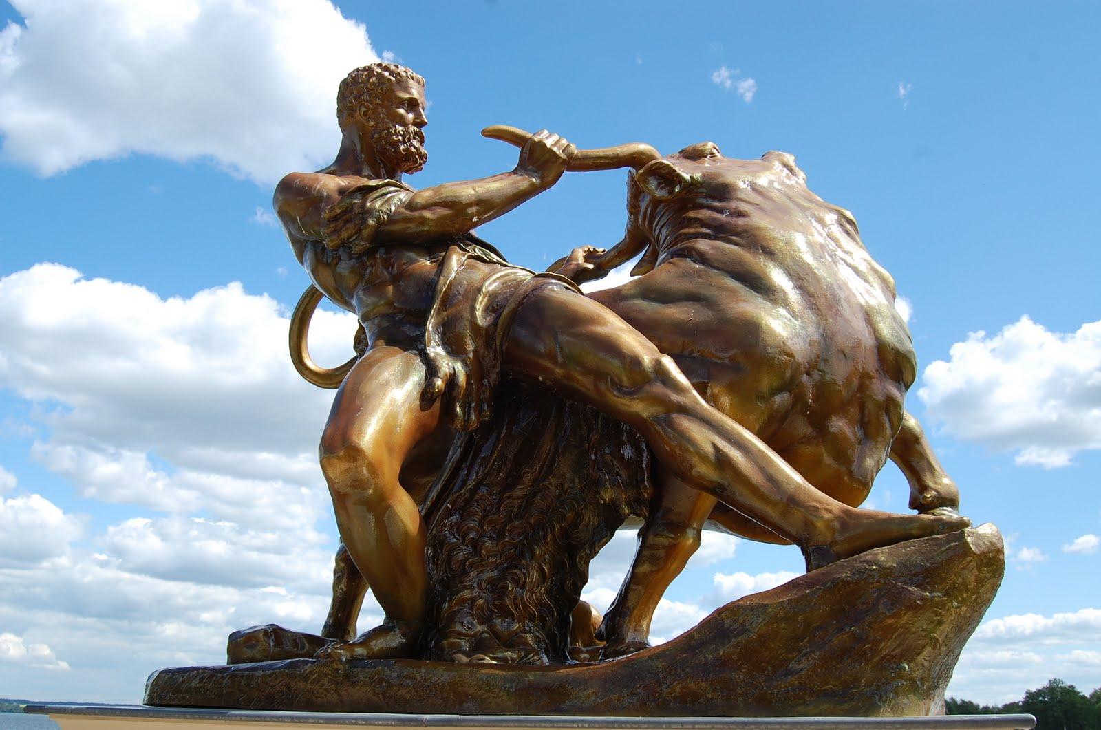 The Seventh Labor: Capture the Kretan Bull