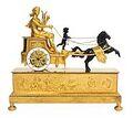 Chariot clock Apollo