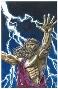 Zeus' lightning bolts by mlpeters
