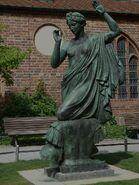 Statue of Clio in Berlin