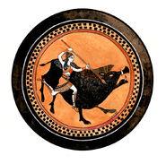 Atalanta and the calydonian boar by dancingheron-d5hq5o1