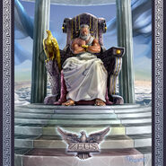 Zeus On Throne