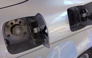 Wasserstoffeinfüllstutzen eines BMW