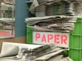 Reduce Your Carbon Footprint - Recycle Paper!