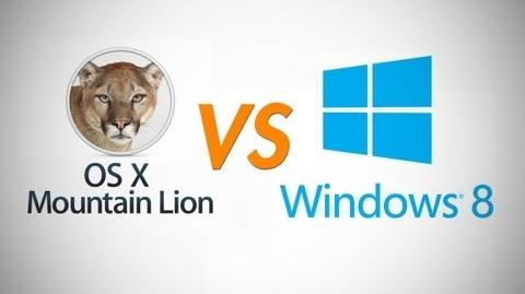 Mountain Lion Vs Windows 8 - Who Will Win This Round?