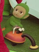 Green Tiddlytubby Name Daa-Daa