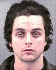 Billie Joe's Mugshot taken in 2003.