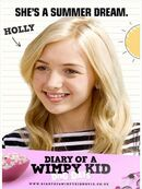 Gregs Tagebuch 3 Poster Holly