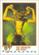 Topps The Gremlins Are Back!