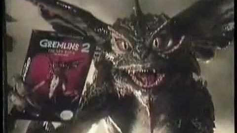 GREMLINS 2 The New Batch for NES Commercial