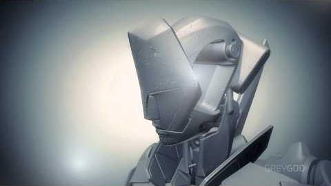 The Singleton Robot Fully 3D Printed in SLA