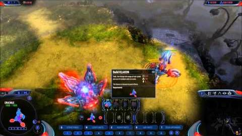Grey Goo New Race - The Shroud - Units and Gameplay