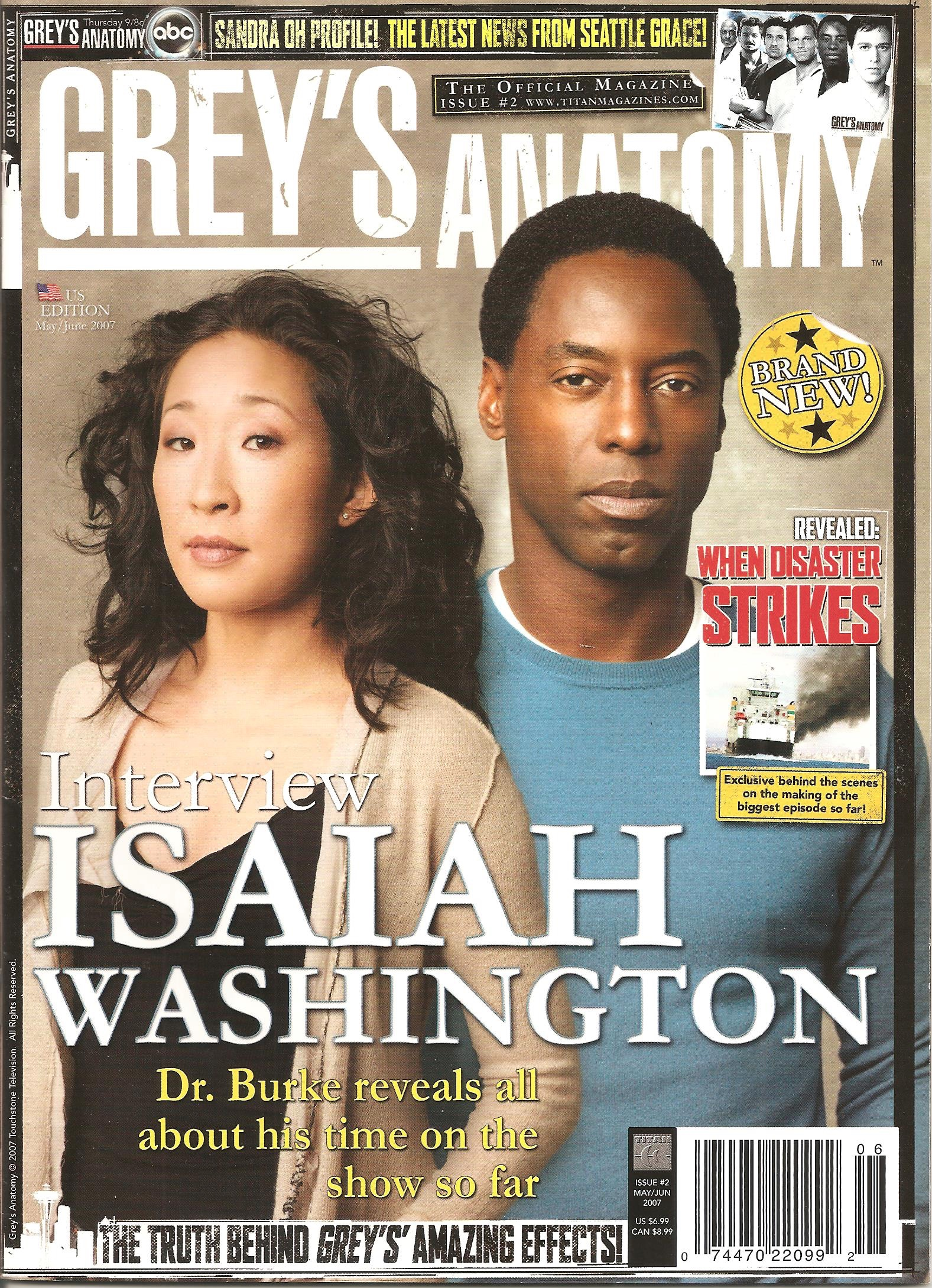 Grey's Anatomy Official Magazine: Issue 2