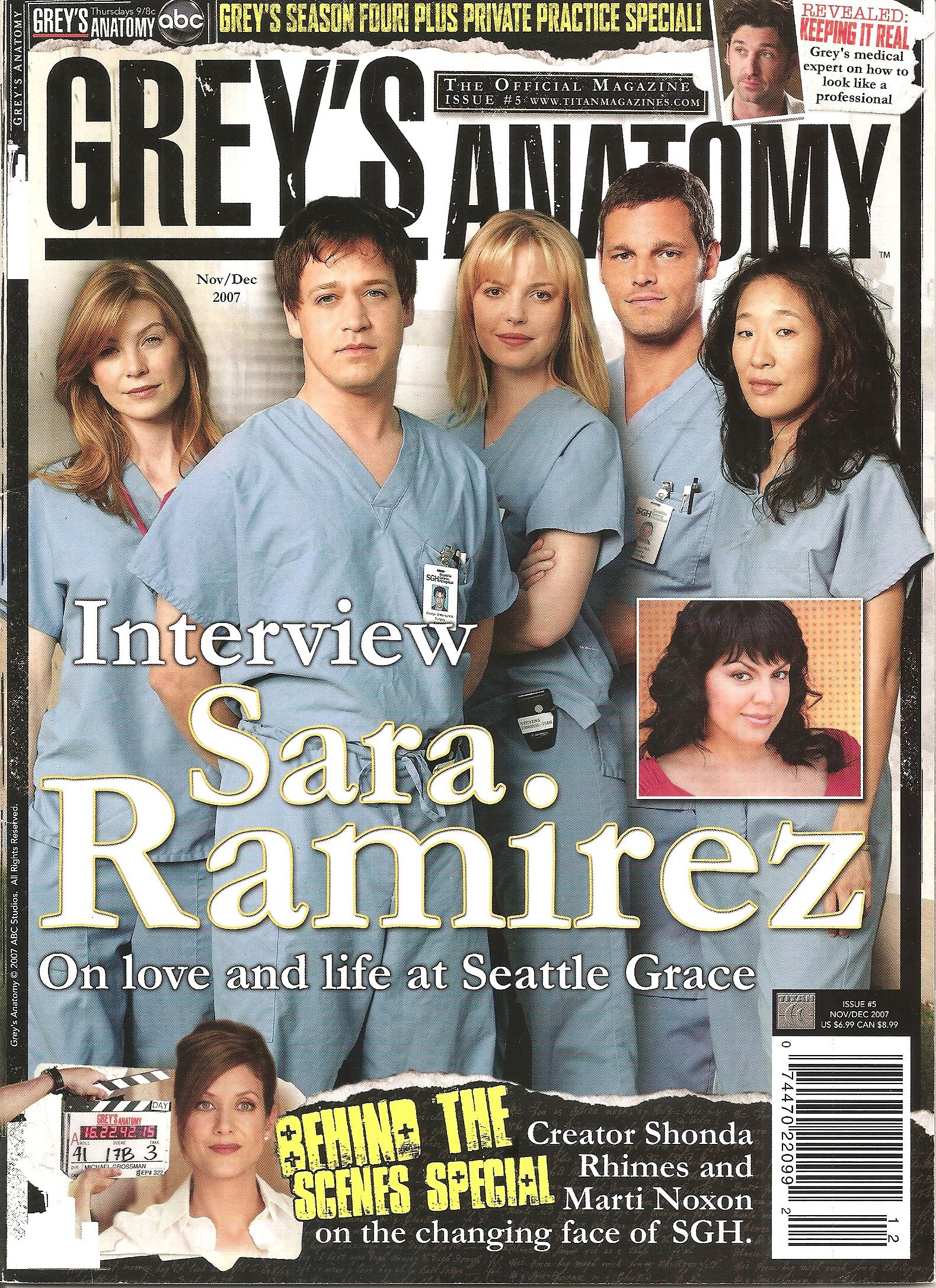 Grey's Anatomy Official Magazine: Issue 5