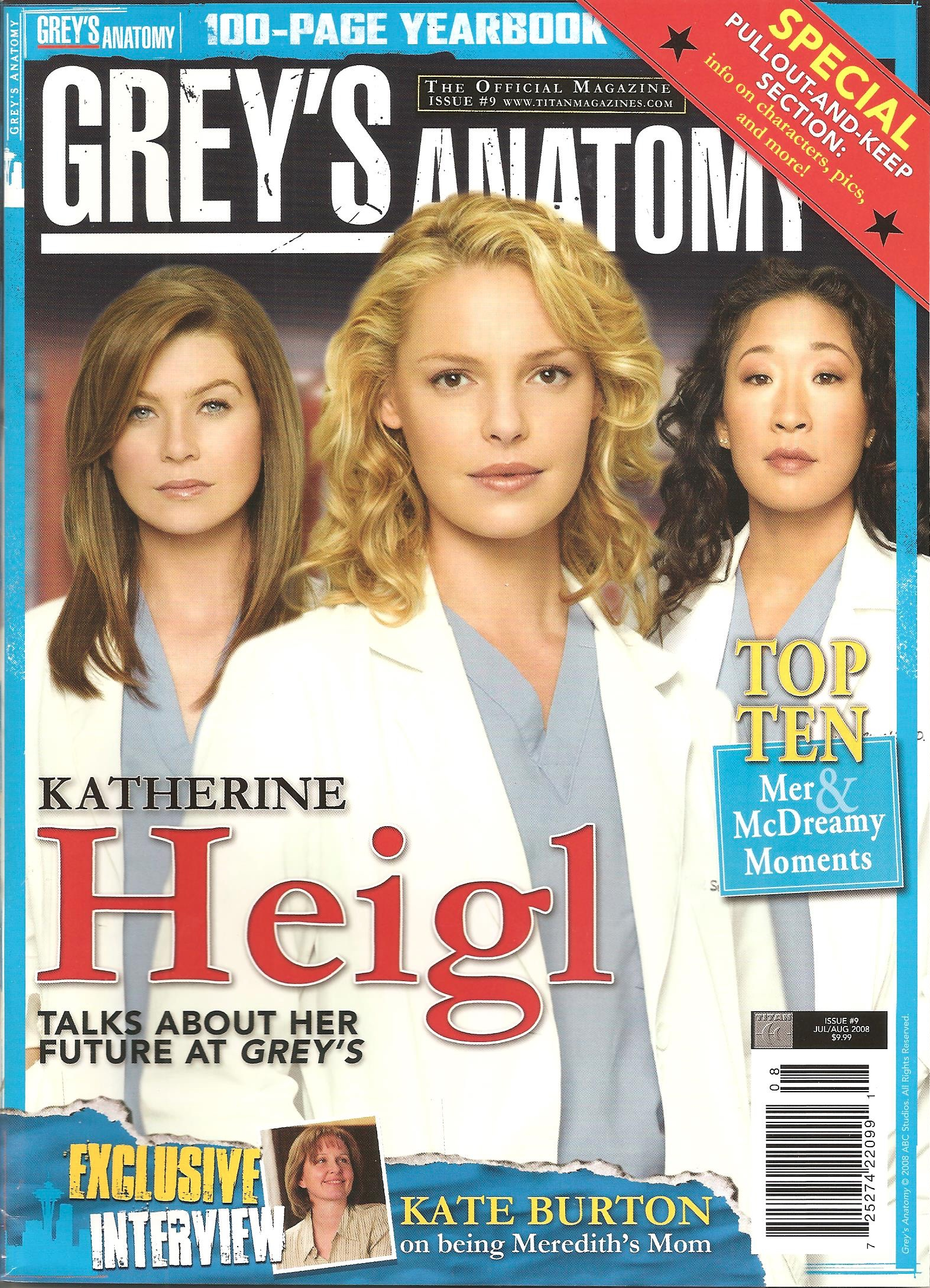 Grey's Anatomy Official Magazine: Issue 9