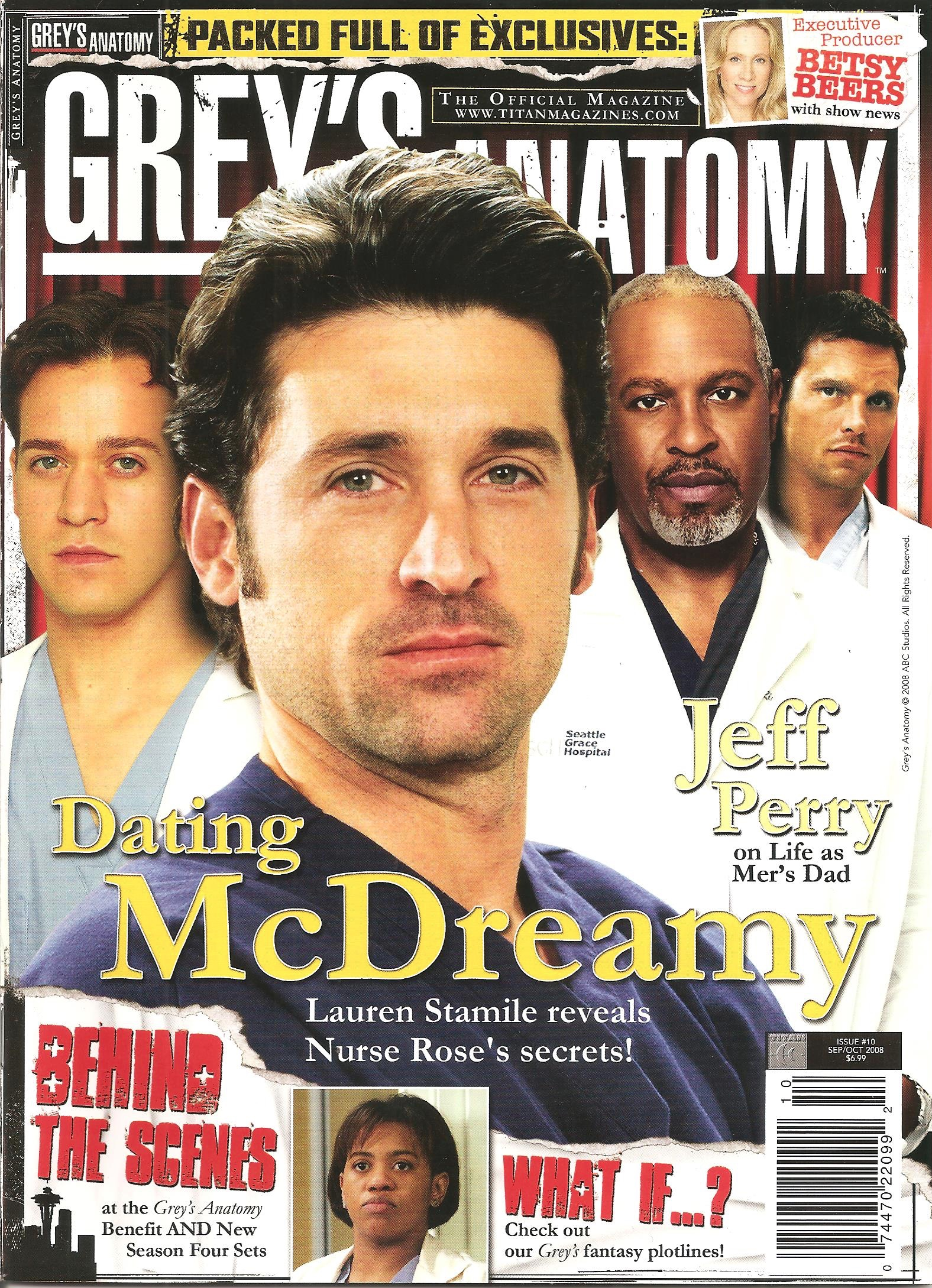 Grey's Anatomy Official Magazine: Issue 10