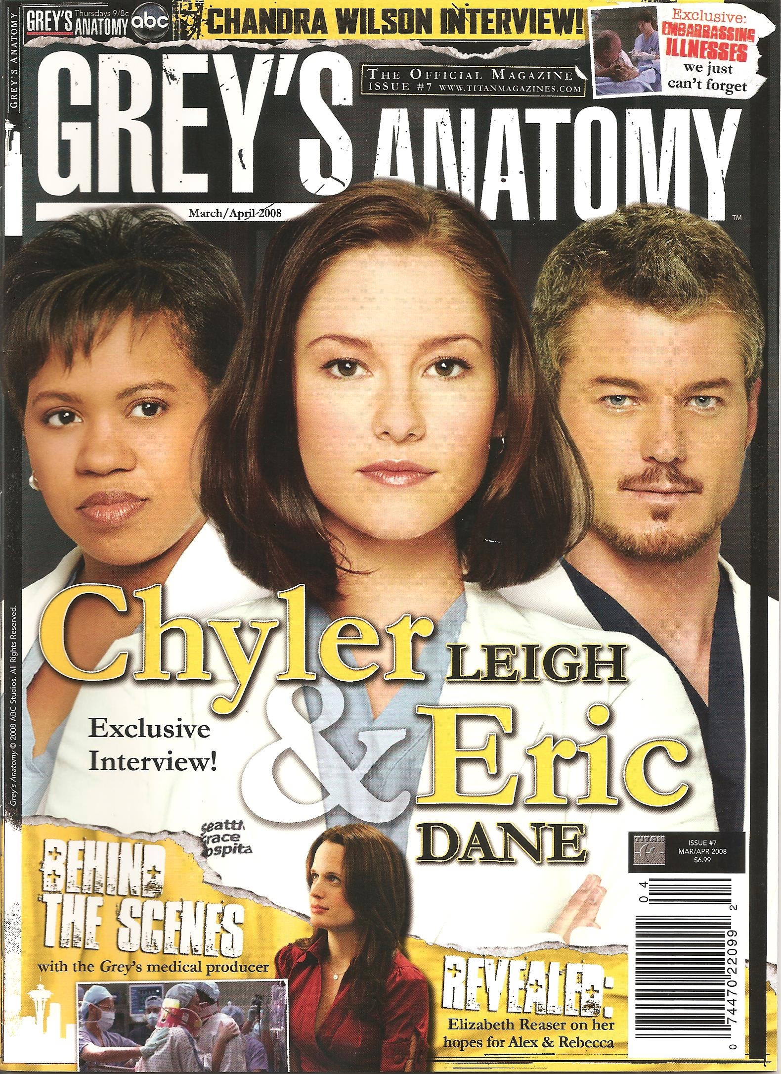 Grey's Anatomy Official Magazine: Issue 7