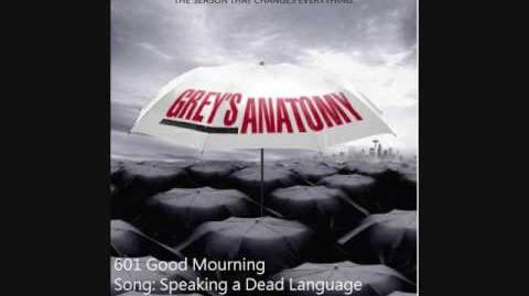 """Speaking a Dead Language"" - Joy Williams"