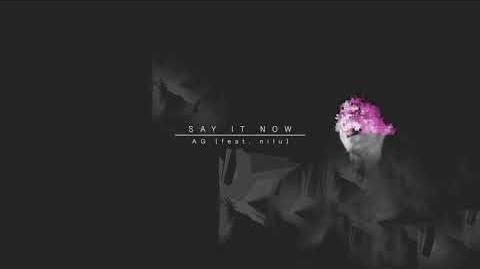 """""""Say It Now"""" - AG feat"""