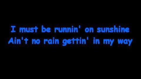 """""""Running on Sunshine"""" - Jesus Jackson"""