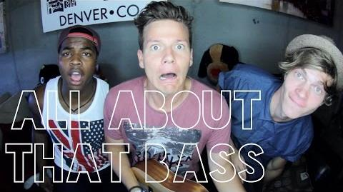 """All About That Bass"" - Tyler Ward & Two Worlds"