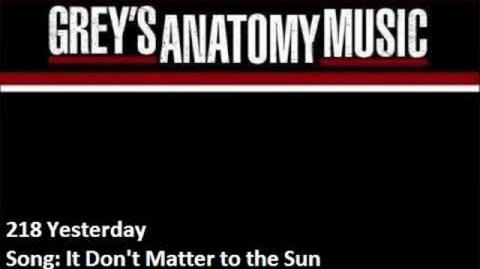 """It Don't Matter to the Sun"" - Rosie Thomas"