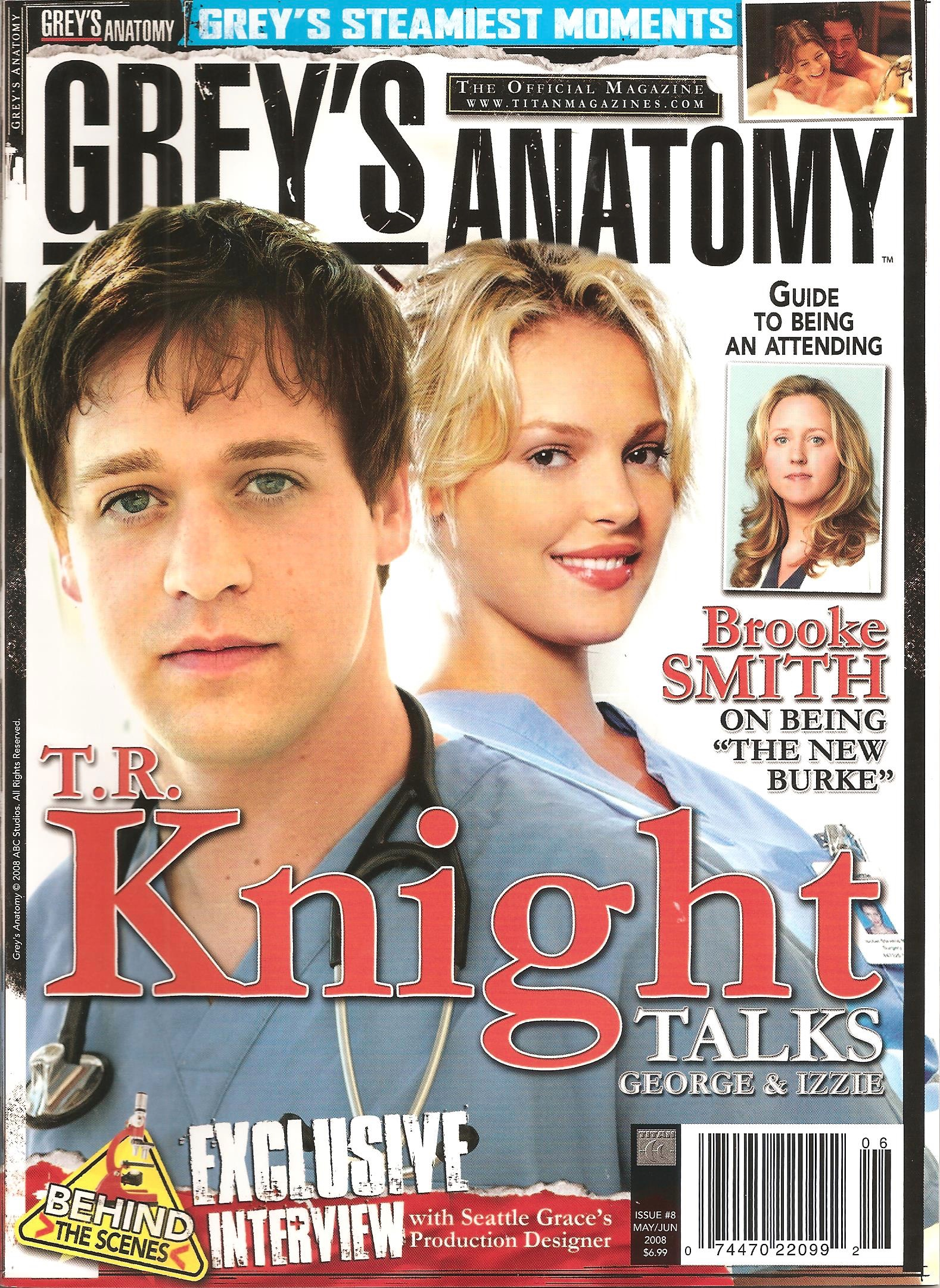 Grey's Anatomy Official Magazine: Issue 8
