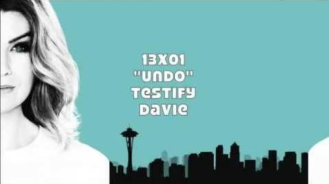 """""""Testify"""" - Davie"""