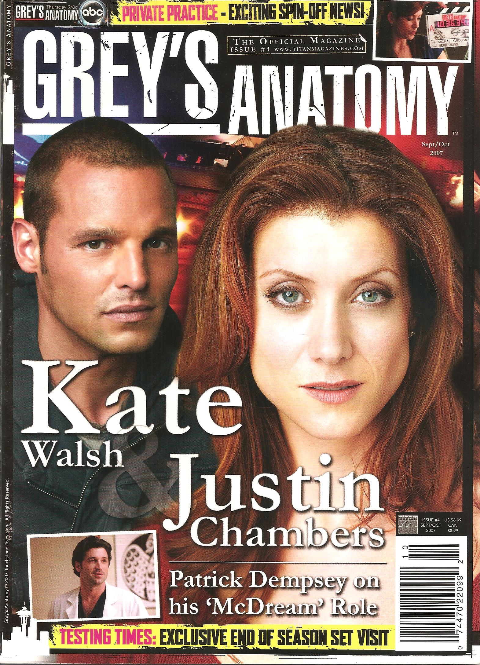 Grey's Anatomy Official Magazine: Issue 4