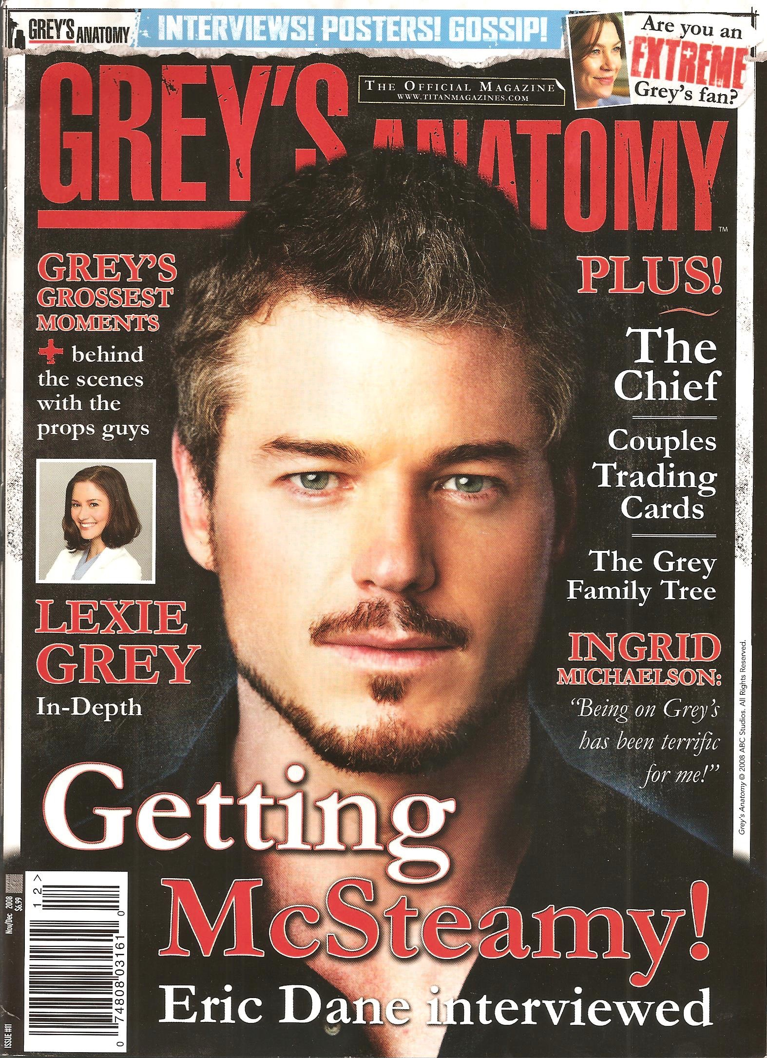 Grey's Anatomy Official Magazine: Issue 11