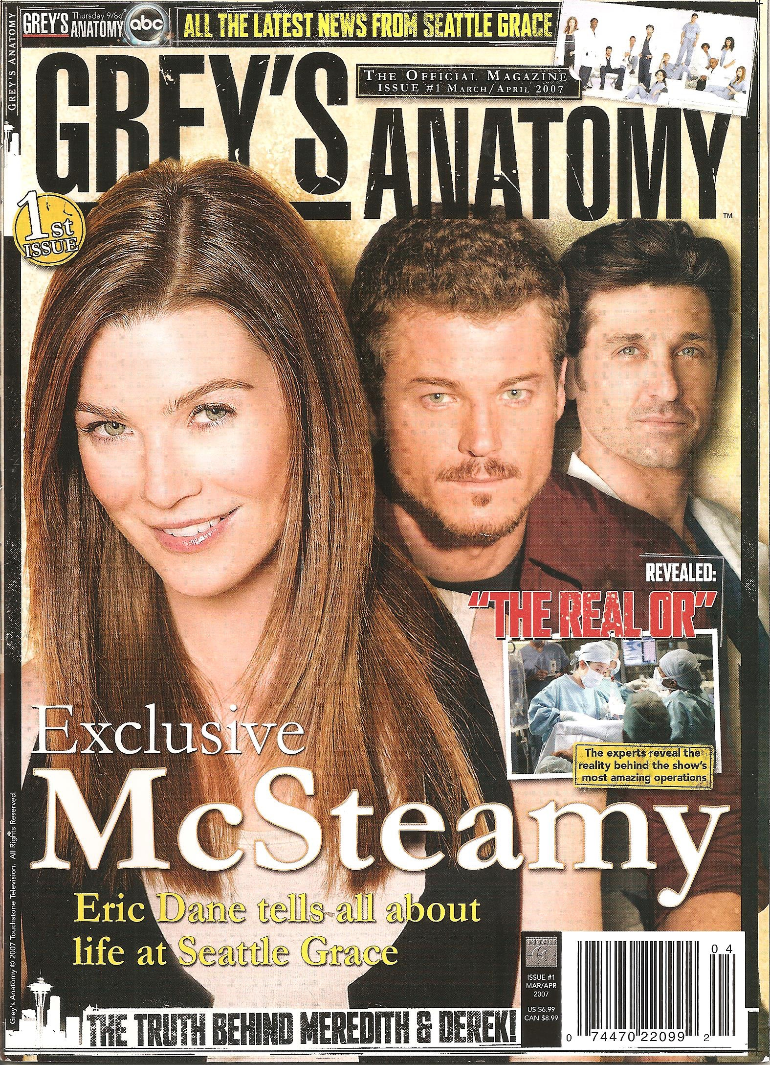 Grey's Anatomy Official Magazine: Issue 1