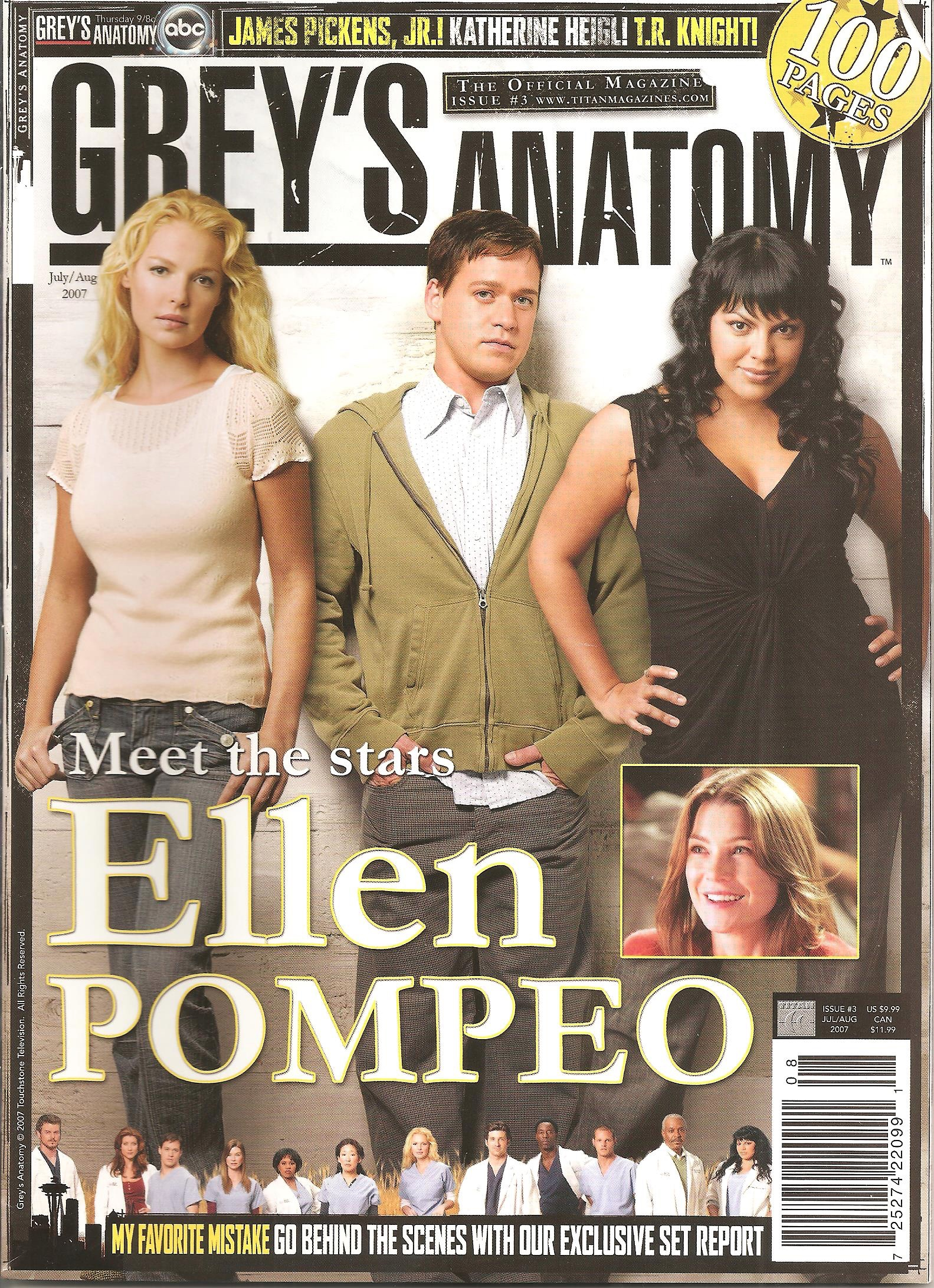 Grey's Anatomy Official Magazine: Issue 3