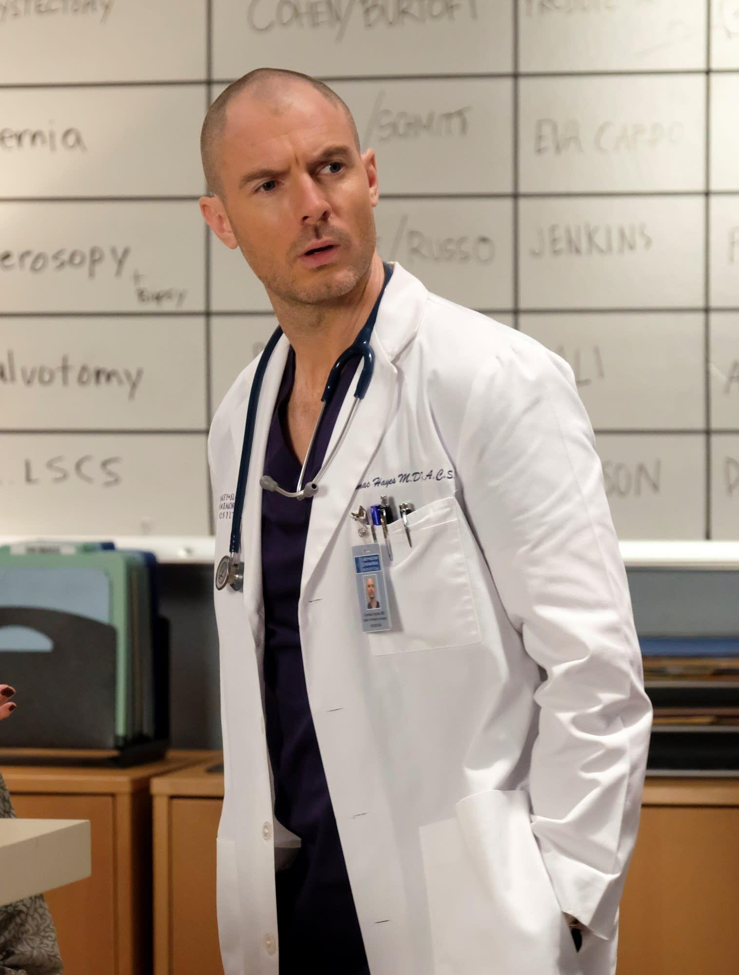 Dr Cormac Hayes Grey S Anatomy Wiki Fandom