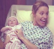 Rachel und ihre Mutter