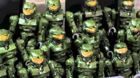 Halo Mega Bloks Toymation Fest 2012 Entry Grifball Marked for Destruction