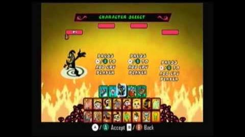 The Grim Adventures of Billy and Mandy Wii-All Characters and Costumes
