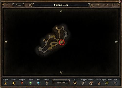 Baron Wradlith's Location