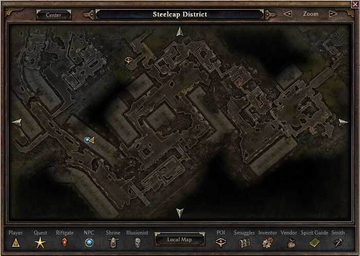 Steelcap District Map