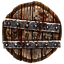 Tarnished Round Shield Icon.png