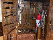 Season 4 Weapons Cabinet