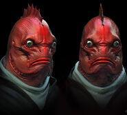 Unnamed Red Herring Wesen Concept Art