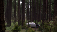 322-Trailer in the woods