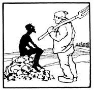 Bauer und Teufel Otto Ubbelohde 1
