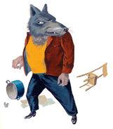 Wolf und die sieben Aljoscha Blau