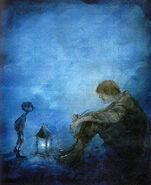 Blaues licht Daniela Drescher
