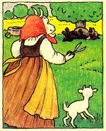 Wolf und die sieben Isa Salomon 1989 bummi 13